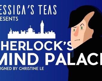 Sherlock's Mind Palace - English Breakfast Tea