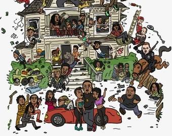 Trap House Print (11 x 17)
