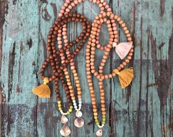 Birth Mala Beads