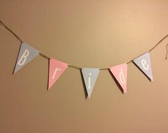 Bride Pennant Banner