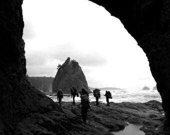 Coastal Hiking, Washington NOLS - 35mm Film Photography Print