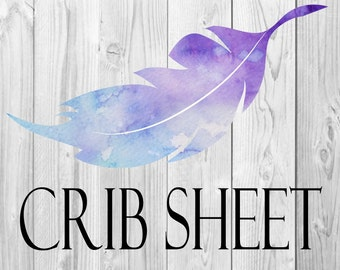 Crib sheet - custom crib sheet, pick your fabric, fitted sheet