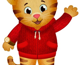 Daniel the Tiger Iron On Transfer