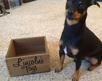 Customized Dog Toy Box