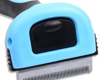 Premium Quality Pet Deshedding Tool- Reduce Shedding up to 90% -Veterinarian and Groomer Recommended
