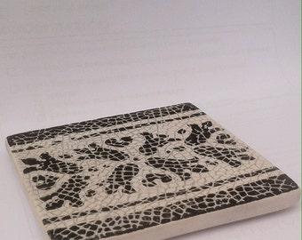 Portuguese Ceramic Tile Drink Coaster