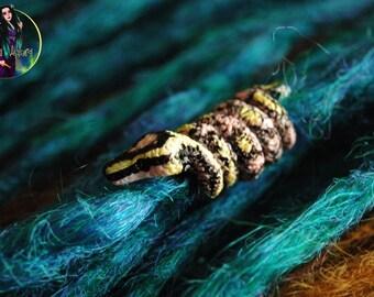 Bead for dreads Snake beads for dreadlocks handmade