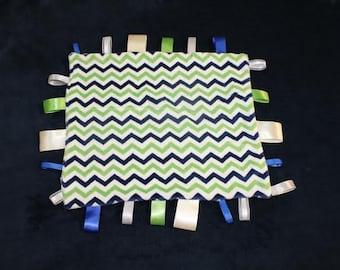 Sensory Tag Blanket