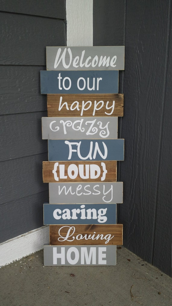 Rustic Front Porch Decor Crazy Fun Family By Memorease On Etsy