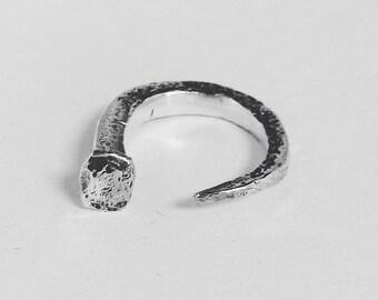 Coffin Nail ring