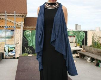 Versatile Shawl vest & dress
