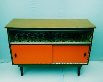 Retro Vintage Kitsch Rockabilly small sideboard