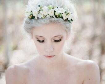 Fresh flower headband