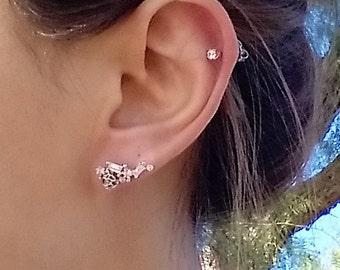 Elegance Roses Piercing Earring