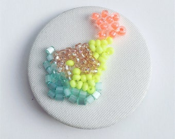 Large Beaded Button