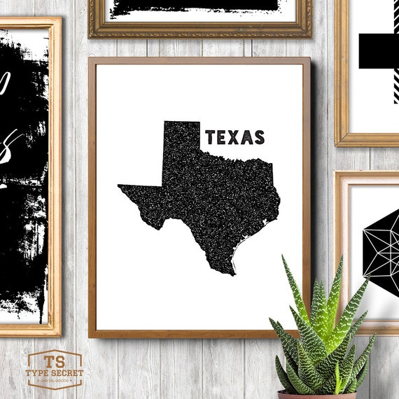 Texas home decor texas wall decor texas wall art texas state for Texas decorations for the home