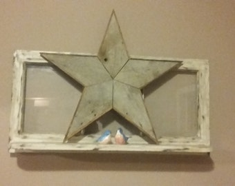 Large Barnwood Star