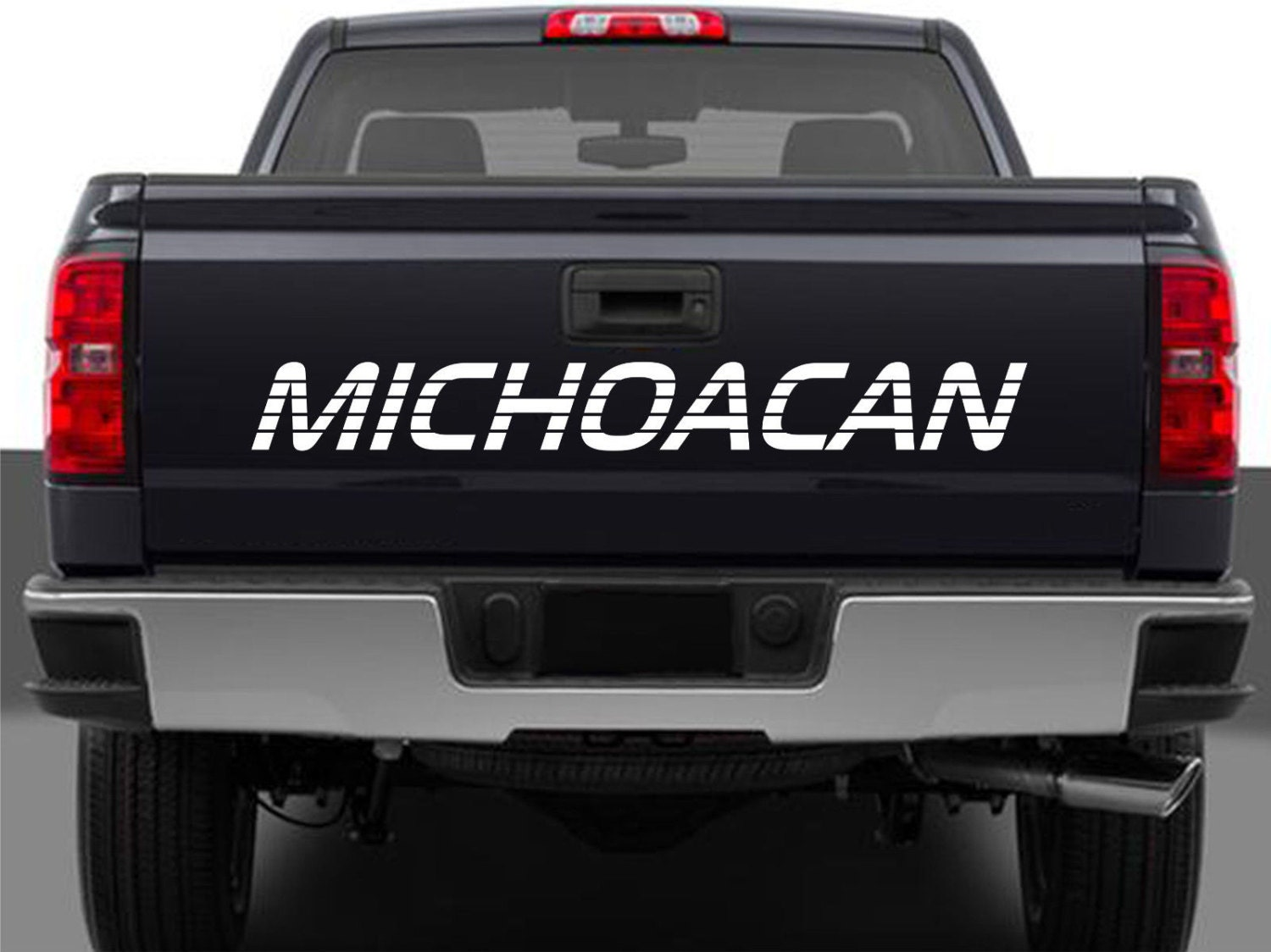 Michoacan Mexico Truck Decal Sticker Tailgate For Chevy - Chevy silverado sticker
