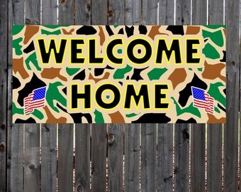 Welcome home banner   Etsy