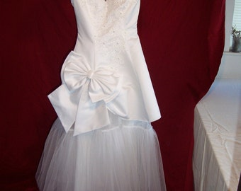 Alternative Upcycled Wedding Dress