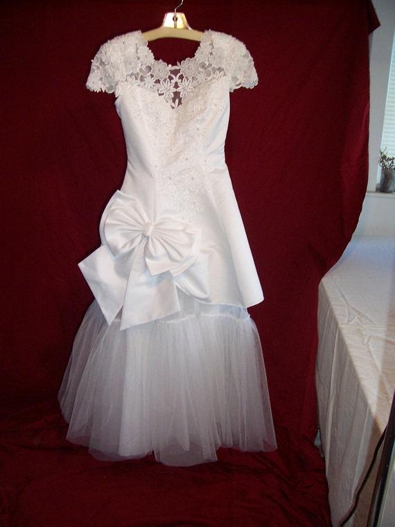 Alternative Upcycled Wedding Dress