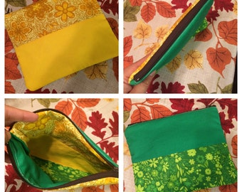 Zippered Multi-use Pouch
