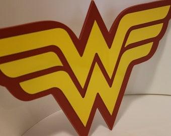 Wonder Woman Wall Emblem