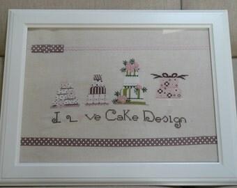 I love Cake design.