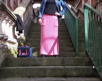 Long skirt with pockets cotton, buy skirt long, long long skirt with pockets, cotton skirt