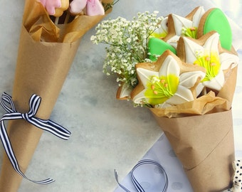 Sugar Cookie Flower Bouquets  [Local Pickup Only]