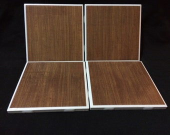 Wooden Tile Coasters