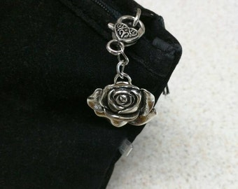 Zipper charms, zipper pulls, keychain charm, purse charm