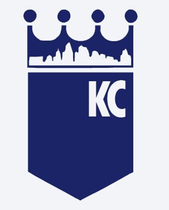 Kansas City Royals Vinyl Decal Kc Baseball Take The Crown