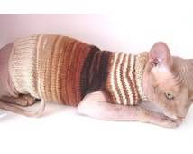 Hairless Cats In Christmas Sweaters