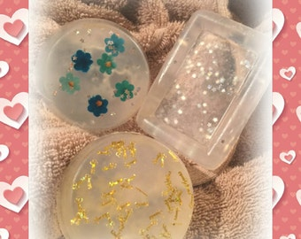 Clear scented glycerin soap
