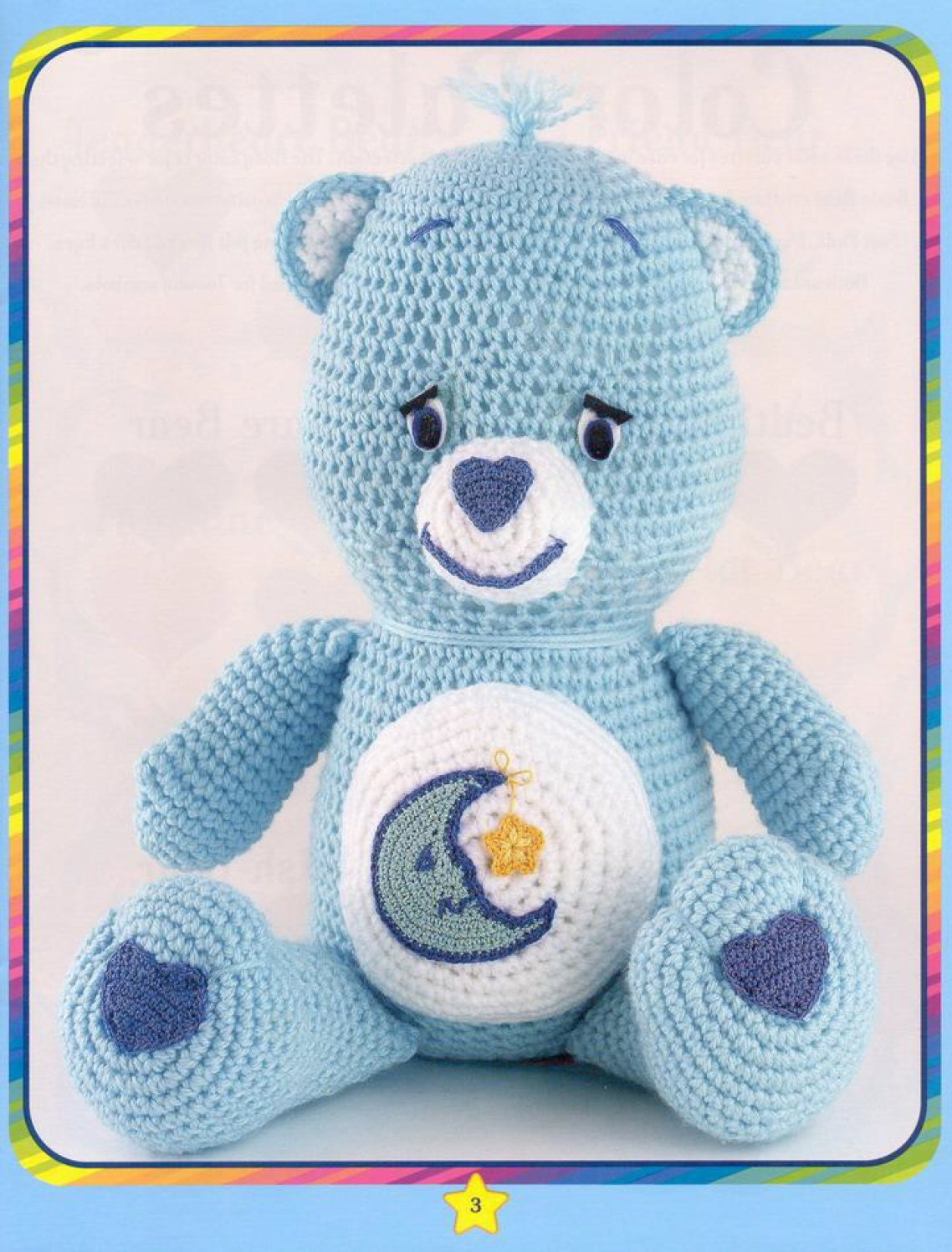 Care bear crochet pattern book soft toy amigurumi soft toy this is a digital file bankloansurffo Choice Image