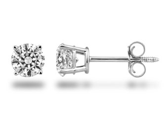 0.22 Ct. tw. Round Diamond Earring Studs