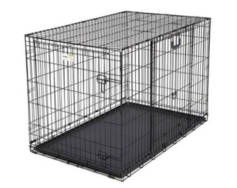 "Large Dog Crate - 43.75"" x 28.25"" x 30.50"""