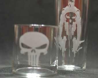 The Punisher 2pc set
