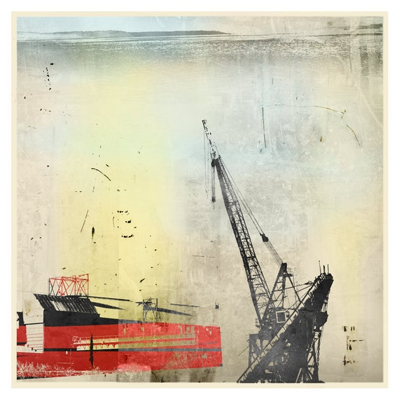 Duwamish 5 (Othello), contemporary print, Asian, minimalism, limited edition, digital print, modern art, industrial art, iskra fine art