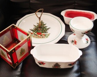 Pfaltzgraff Christmas Heritage 5PC serving Set