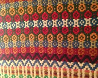 Vintage Swedish woven runner
