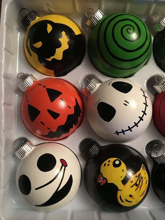 Nightmare Before Christmas Ornament Spooky Halloween and