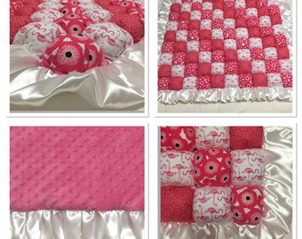 Personalized Bubble Quilt - Baby Quilt - Made to Order!