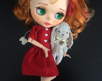 Teddy bunny friend doll