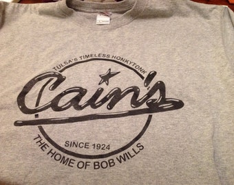 Cain's Honkytonk shirt Xl
