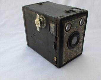 Old box camera AGFA 1930 s antique photo