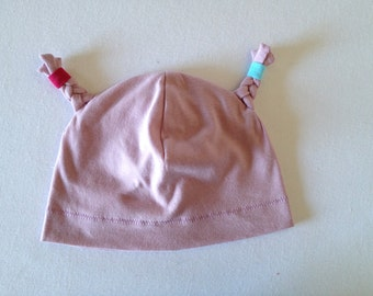 Baby girl hat, funky baby hat