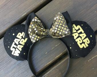 Star wars Inspired mouse ears  *Bling*