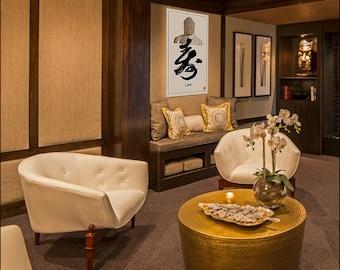 Kakémono Poster, Buddha Poster, Buddha Art, Calligraphy, Buddha Home Decor,  Buddha